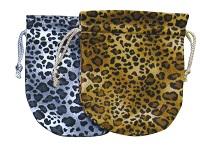 豹柄ポーチ600 L