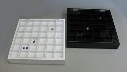 塗装盆S 蓋付き 6x6(中台紙別売)